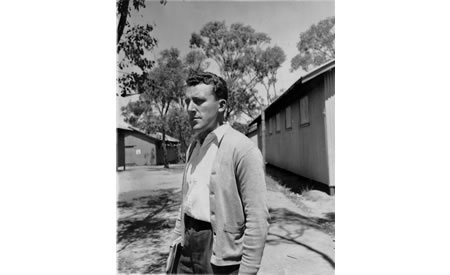 Doctor at Top Camp, Northam, 1950. Courtesy State Library of Western Australia 005076D