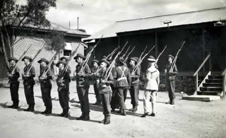 Training reinforcements for 2nd AIF, c 1942. Courtesy Elsie Solly