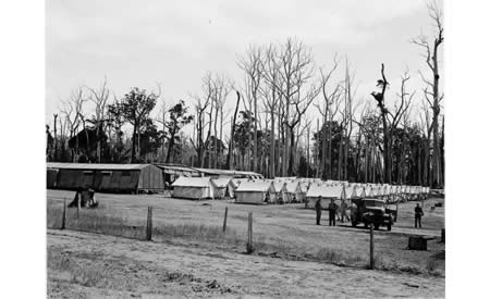 Control Centre W28, Northcliffe for Italian POWs.  Online image 007952D. Courtesy the State Library of Western Australia.