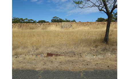 Parade ground built by Italian POWS.  Courtesy NACHA, 2010.